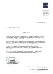 referencje ECCO